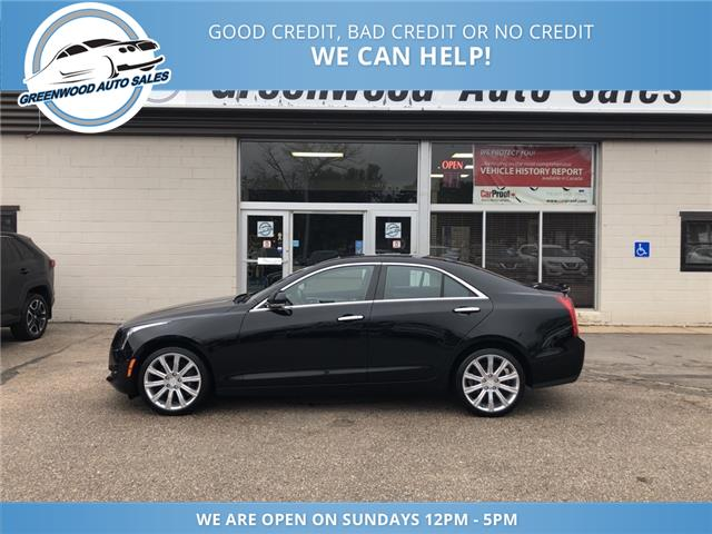 2017 Cadillac ATS 2.0L Turbo Luxury (Stk: 17-12551) in Greenwood - Image 1 of 23