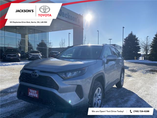 2021 Toyota RAV4 LE (Stk: 18163) in Barrie - Image 1 of 7
