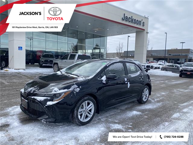 2021 Toyota Corolla Hatchback Base (Stk: 13341) in Barrie - Image 1 of 9