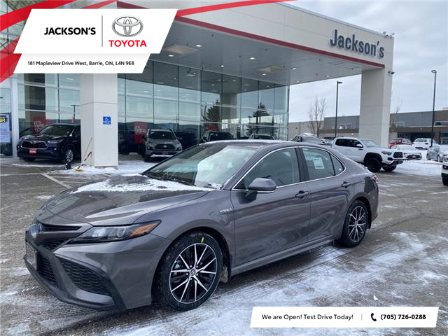 2021 Toyota Camry Hybrid XLE (Stk: 15392) in Barrie - Image 1 of 9