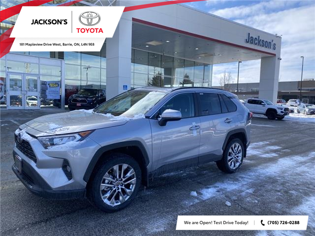 2021 Toyota RAV4 XLE (Stk: 19124) in Barrie - Image 1 of 9