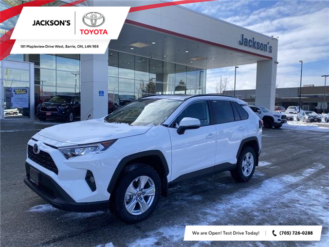 2021 Toyota RAV4 XLE (Stk: 19496) in Barrie - Image 1 of 10