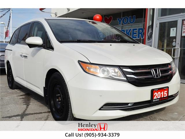 2015 Honda Odyssey LEATHER | HEATED SEATS | REAR CAM (Stk: H19416A) in St. Catharines - Image 1 of 29
