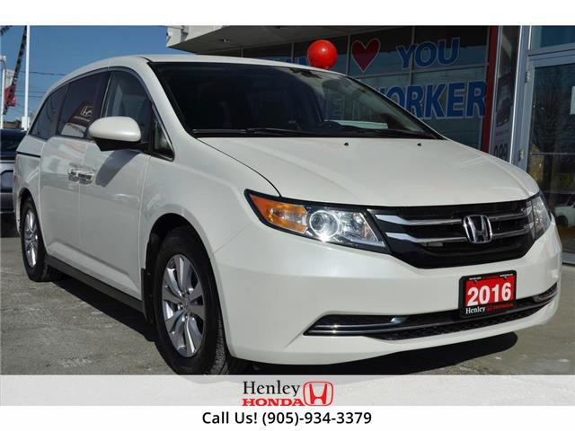 2016 Honda Odyssey REMOTE START | REAR CAM | BLUETOOTH (Stk: B1031A) in St. Catharines - Image 1 of 28