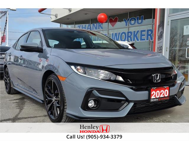 2020 Honda Civic Hatchback BLUETOOTH | REAR CAM | HEATED SEATS (Stk: R10076) in St. Catharines - Image 1 of 22