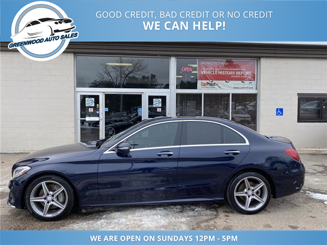 2017 Mercedes-Benz C-Class Base (Stk: 17-90297) in Greenwood - Image 1 of 28