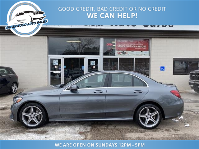 2017 Mercedes-Benz C-Class Base (Stk: 17-94311) in Greenwood - Image 1 of 26