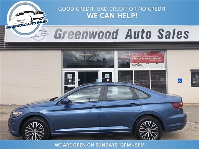 2019 Volkswagen Jetta 1.4 TSI Highline (Stk: 19-63341) in Greenwood - Image 1 of 21