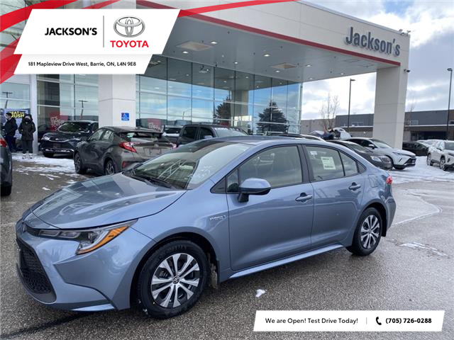 2021 Toyota Corolla Hybrid Base w/Li Battery (Stk: 13655) in Barrie - Image 1 of 9