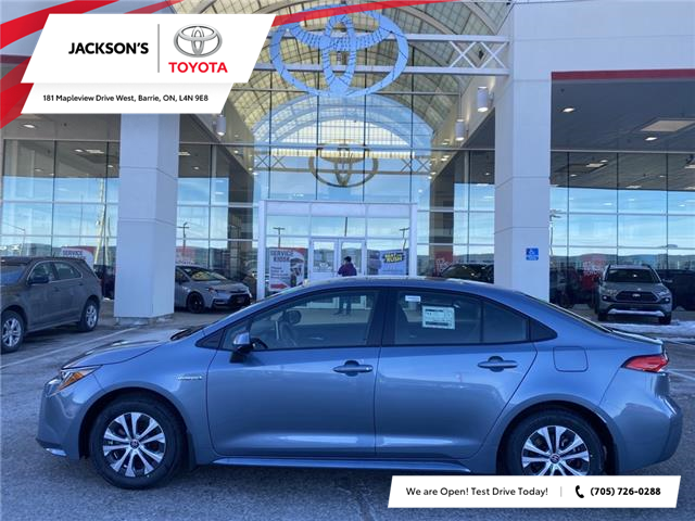 2021 Toyota Corolla Hybrid Base w/Li Battery (Stk: 13359) in Barrie - Image 1 of 11