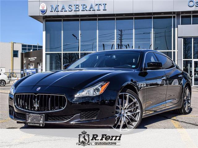 2014 Maserati Quattroporte GTS (Stk: CONS4) in Oakville - Image 1 of 30