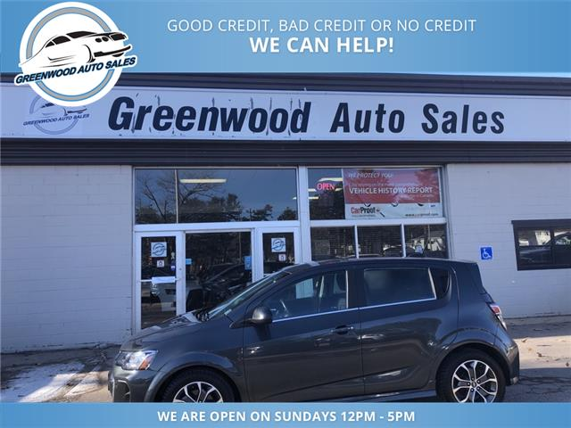 2017 Chevrolet Sonic LT Auto (Stk: 17-61525) in Greenwood - Image 1 of 21