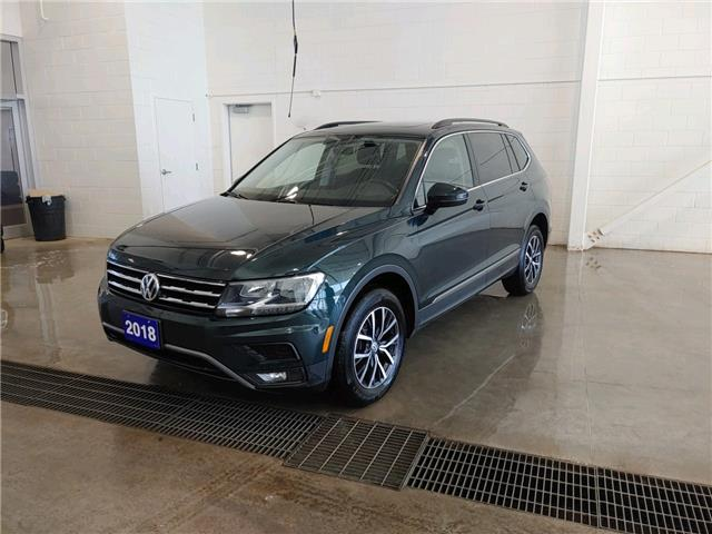 2018 Volkswagen Tiguan Comfortline (Stk: V0583) in Sault Ste. Marie - Image 1 of 14