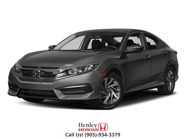 2017 Honda Civic Sedan SUNROOF | REAR CAM | BLUETOOTH (Stk: R10096) in St. Catharines - Image 1 of 3
