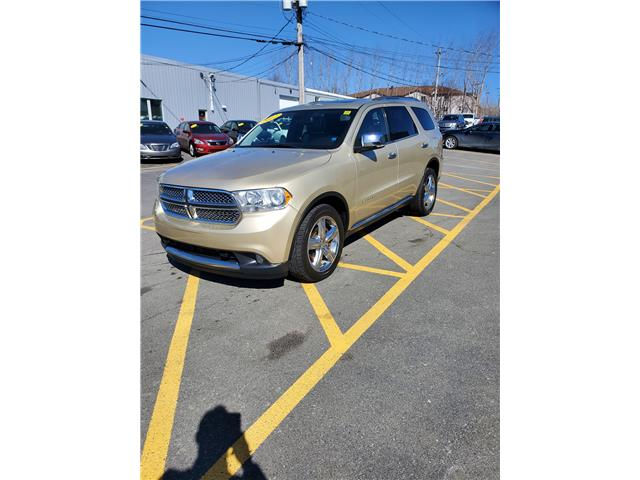 2012 Dodge Durango Citadel AWD (Stk: p21-042) in Dartmouth - Image 1 of 13