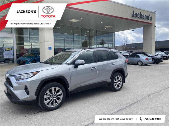 2021 Toyota RAV4 XLE (Stk: 13805) in Barrie - Image 1 of 8