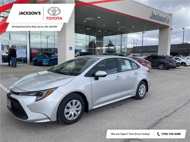 2021 Toyota Corolla L (Stk: 18098) in Barrie - Image 1 of 9