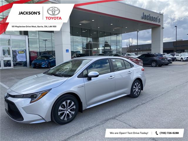2021 Toyota Corolla Hybrid Base w/Li Battery (Stk: 14345) in Barrie - Image 1 of 8