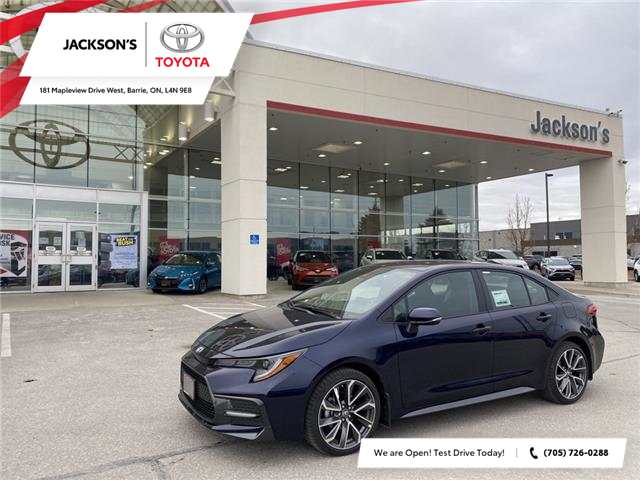 2021 Toyota Corolla SE (Stk: 11381) in Barrie - Image 1 of 11