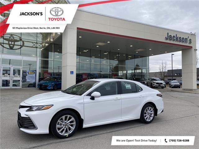 2021 Toyota Camry Hybrid LE (Stk: 15394) in Barrie - Image 1 of 11