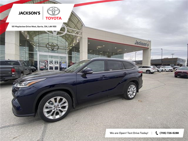 2020 Toyota Highlander Limited (Stk: 6905) in Barrie - Image 1 of 11
