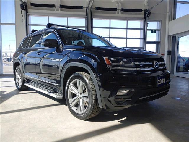 2018 Volkswagen Atlas 3.6 FSI Execline (Stk: V0590) in Sault Ste. Marie - Image 1 of 20