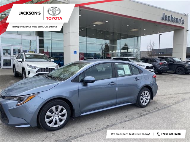 2021 Toyota Corolla LE (Stk: 19387) in Barrie - Image 1 of 9