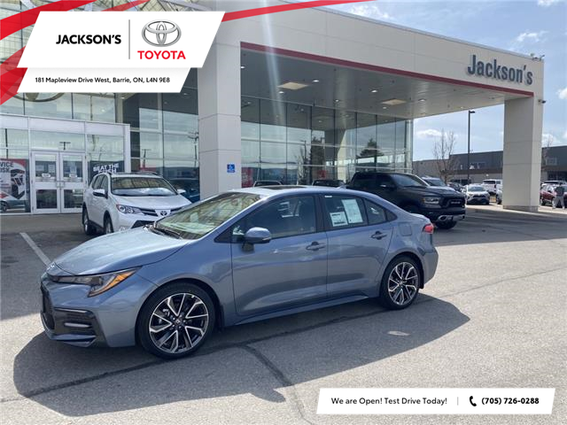 2021 Toyota Corolla SE (Stk: 12075) in Barrie - Image 1 of 9