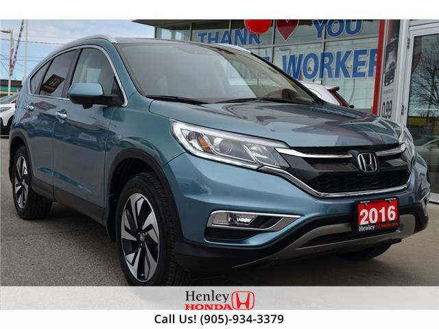 2016 Honda CR-V NAV | LEATHER | BLUETOOTH | REAR CAM (Stk: H19547A) in St. Catharines - Image 1 of 27