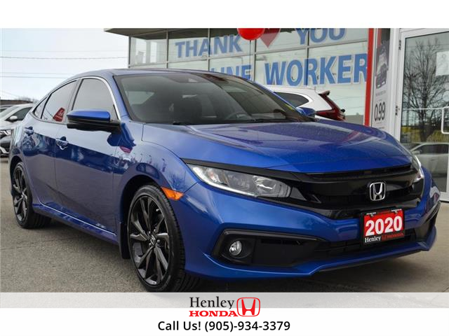 2020 Honda Civic Sedan BLUETOOTH | REAR CAM | HEATED SEATS (Stk: R10116) in St. Catharines - Image 1 of 23
