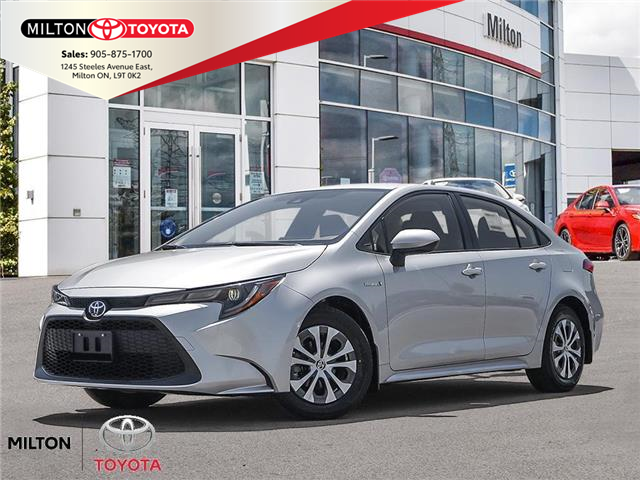 2021 Toyota Corolla Hybrid Base w/Li Battery (Stk: 026029) in Milton - Image 1 of 23