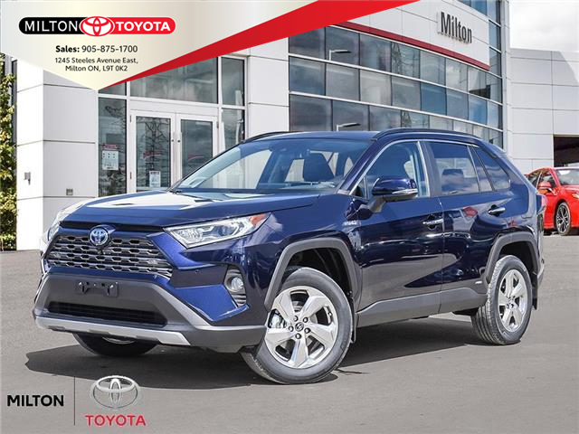 2021 Toyota RAV4 Hybrid Limited (Stk: 115667) in Milton - Image 1 of 10