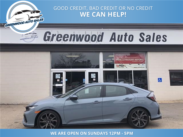 2017 Honda Civic Sport Touring (Stk: 17-07705) in Greenwood - Image 1 of 20