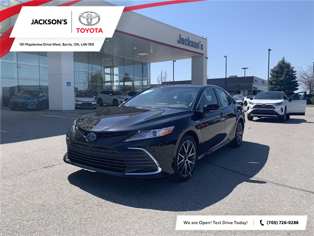 2021 Toyota Camry Hybrid XLE (Stk: 15600) in Barrie - Image 1 of 11