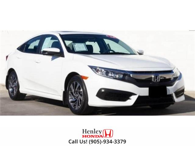 2016 Honda Civic Sedan SUNROOF | REAR CAM | HEATED SEATS (Stk: R10132) in St. Catharines - Image 1 of 1