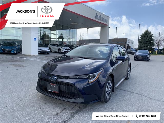 2021 Toyota Corolla Hybrid Base w/Li Battery (Stk: 15458) in Barrie - Image 1 of 11
