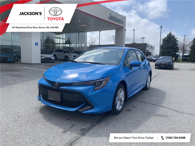 2021 Toyota Corolla Hatchback Base (Stk: 19909) in Barrie - Image 1 of 12