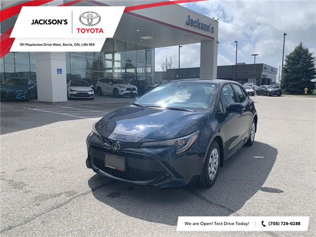 2021 Toyota Corolla Hatchback Base (Stk: 19917) in Barrie - Image 1 of 12