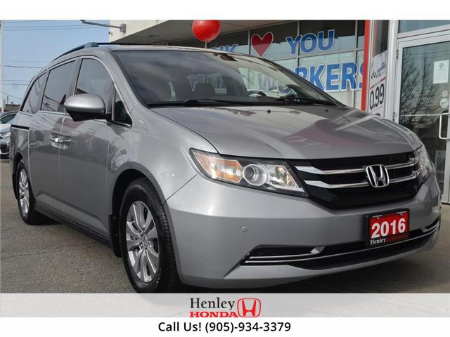 2016 Honda Odyssey LEATHER | REAR CAM | DVD (Stk: R10123) in St. Catharines - Image 1 of 31