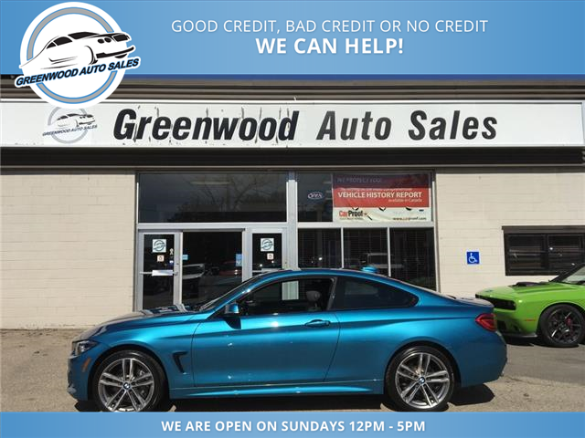 2018 BMW 430i xDrive (Stk: 18-49952) in Greenwood - Image 1 of 22