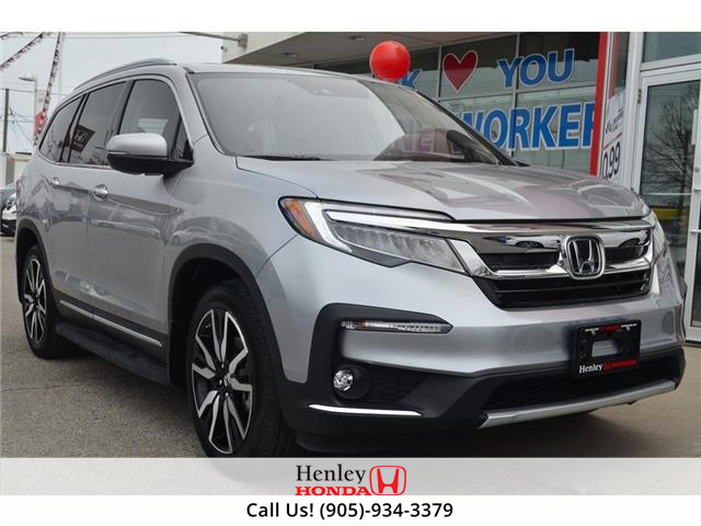 2021 Honda Pilot NAV | LEATHER | REAR CAM | RES (Stk: R10136) in St. Catharines - Image 1 of 32