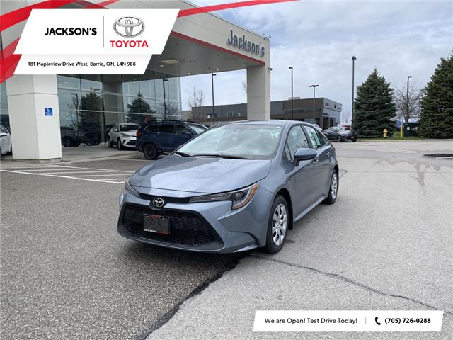 2021 Toyota Corolla LE (Stk: 11189) in Barrie - Image 1 of 13