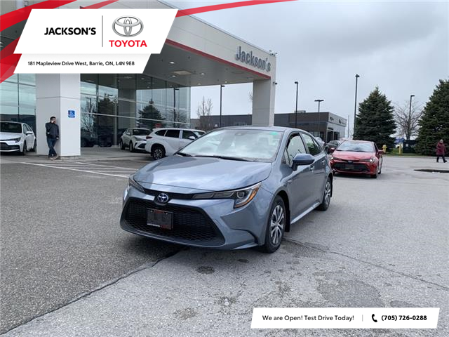 2021 Toyota Corolla Hybrid Base w/Li Battery (Stk: 15565) in Barrie - Image 1 of 11