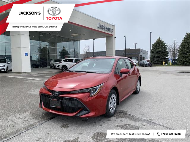 2021 Toyota Corolla Hatchback Base (Stk: 12361) in Barrie - Image 1 of 11