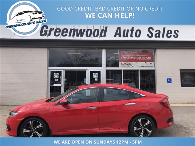 2018 Honda Civic Touring (Stk: 18-06505) in Greenwood - Image 1 of 20