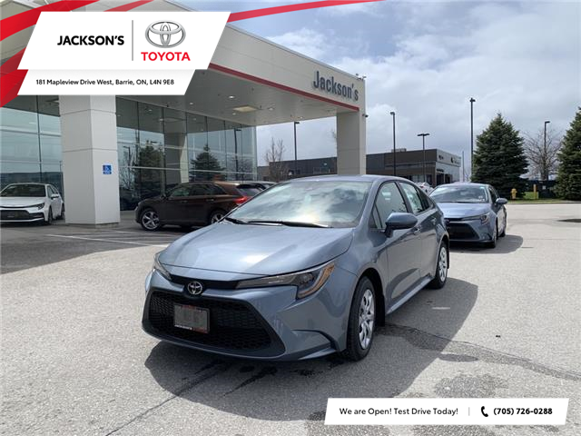 2021 Toyota Corolla LE (Stk: 11003) in Barrie - Image 1 of 11