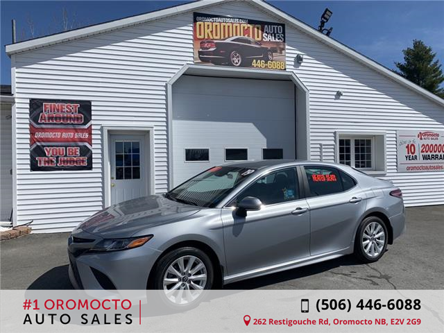 2019 Toyota Camry SE (Stk: ) in Oromocto - Image 1 of 13