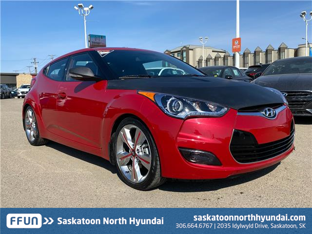 2016 Hyundai Veloster Tech (Stk: 50307A) in Saskatoon - Image 1 of 17
