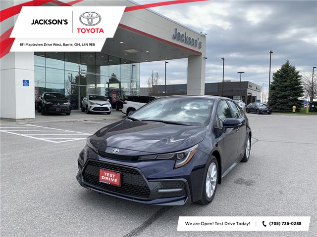 2021 Toyota Corolla SE (Stk: 16418) in Barrie - Image 1 of 11