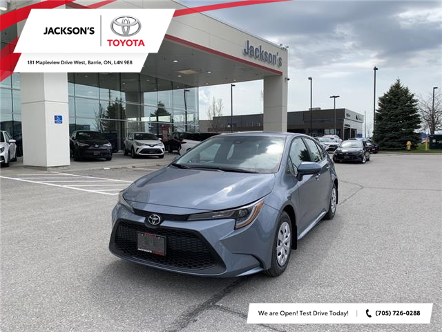 2021 Toyota Corolla L (Stk: 12330) in Barrie - Image 1 of 11